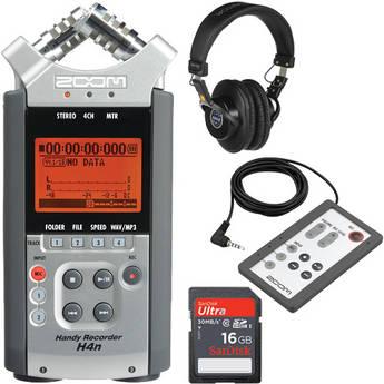 Zoom H4n - Con Special Kit y Control Remoto